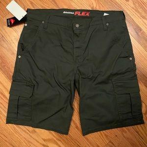 NWT green dickie shorts